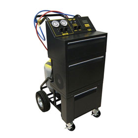 CPS Semi-Automatic Single Refrigerant Recovery/Recycle & Recharge with 50 lb. Tank - AR2700