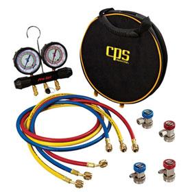 CPS Pro-Set R-134a / R-1234yf Manifold Gauge Set w/ Case - MTHFO134