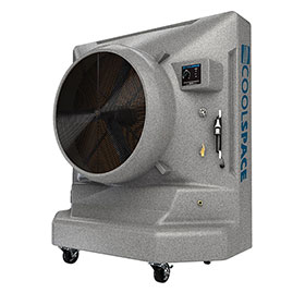 "Cool-Space 36"" Variable Speed Portable Evaporative Cooler - CS6-36-VD"