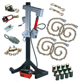 Big Champ 20-Ton Pulling Post Starter Kit