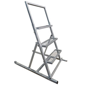 Champ Aluminum Adjustable Paint / Work Ladder