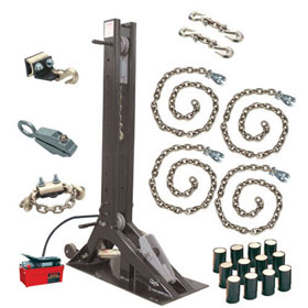"Champ ""Olympian"" 10-Ton Pulling Post Starter Kit with 4007 Post - 4021"