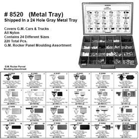 G.M. Rocker Panel Moulding Assortment - 8520