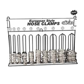 Disco Automotive Hardware European Hose Clamp Assortment, 100 Total Pcs. - 8702