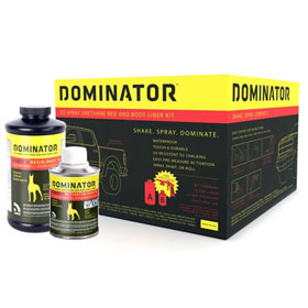 USC Dominator EZ-Spray Urethane Bed and Body Liner Kit