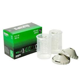 DeVilbiss DeKups DPC-607 Reusable 9 Oz. Sleeves & Lids - 802972