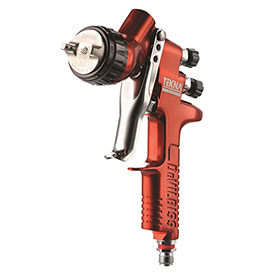 DeVilbiss TEKNA Copper Gravity Feed Paint Gun - 703661