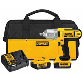 "DeWalt 20V MAX 1/2"" High Torque Impact Wrench Kit - DCF889HM2"
