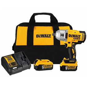 "DeWalt 20v MAX* XR HT 1/2"" Impact Wrench with Detent Pin Anvil Kit - DCF899P2"