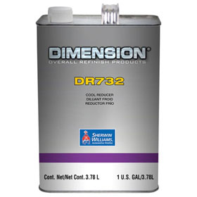 Sherwin-Williams Dimension Pro Clearcoat Reducer