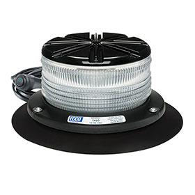 ECCO RotoLED LED Hybrid Beacon Light, SAE Class I, 125RPM, 12-24VDC
