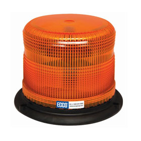 Ecco Pulse II Heavy-Duty LED Beacon Light, SAE Class I, Amber - 7980A