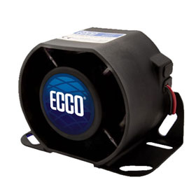 ECCO 800 Series Back-up Smart Alarm, 112dB, 12-36VDC - 850N