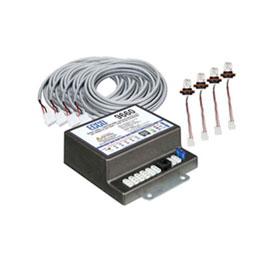 ECCO Remote Strobe Kit: 9660, 4x 9007C, 4x 9915AMP  - 9660-1