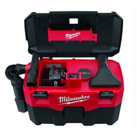 Equalizer® Milwaukee Cordless 2-Gallon Vacuum - 088020