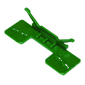 Equalizer® Moulding Clips, Green, 25 pcs. - 2102074