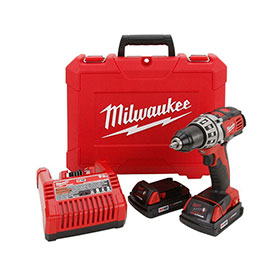 """Equalizer® Milwaukee® M18 Cordless 1/2"""" Compact Drill/Driver Kit - 260122"""