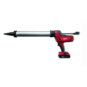 Equalizer Milwaukee® M18 Cordless 20 oz. Sausage Caulking Gun Kit (Aluminum Barrel) - 264221CT