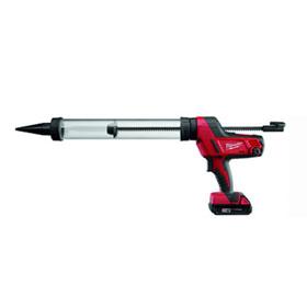 Equalizer® Milwaukee® M18 Cordless 20 oz. Sausage Caulking Gun (Clear Barrel) - 264321CT
