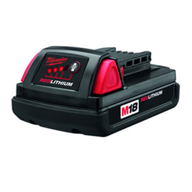 Equalizer® Milwaukee®  M18 Cordless Compact Lithium-Ion Battery - 48111815
