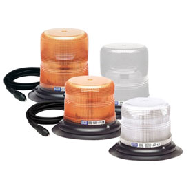 ECCO Strobe Beacon Light Vacuum-Magnet Mount, 12-48 VDC - 6500 Series