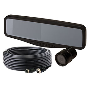 "ECCO Camera Kit: Gemineye 4.3"" LCD Rear View Mirror - EC4200-K"