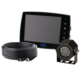 "ECCO Camera Kit: Gemineye, 5.6"" LCD Color System, Touchscreen Monitor - EC5603-K"