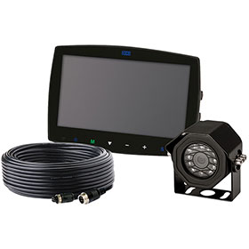 "ECCO Camera Kit: Gemineye, 7.0"" LCD Color System, Quad View, Touch Screen Monitor - EC7000-QK"