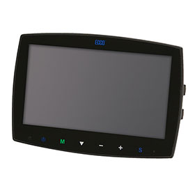 "ECCO Monitor: Gemineye, 7.0"" LCD, LCD Color, Quad View, Touch Screen - EC7000-QM"