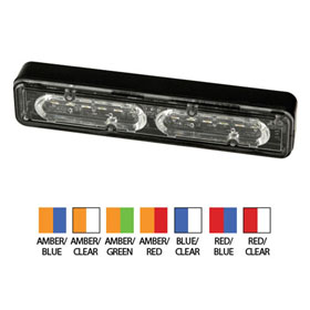 ECCO Directional LED: Multiple Mount Options, 12 Flash Patterns, 12-24VDC - ED3712 Series