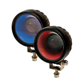 ECCO Round Pedestrian Arrow: LED (4), 12-48VDC - EW2010 Series