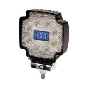 ECCO Worklamp: Equinox, LED (8), Spot Beam, Square, 12-24VDC - EW2102