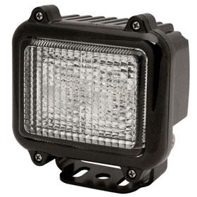 ECCO 2-LED Square Worklamp, Square, 12-24VDC