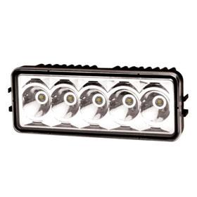 ECCO 5-LED Modular Rectangle Worklamp, 12-24VDC