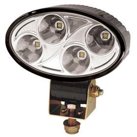 ECCO 4-LED Oval Worklamp, 12-24VDC