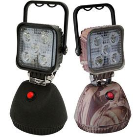 ECCO 5 LED Square Flood Beam Worklamp, 12-24VDC