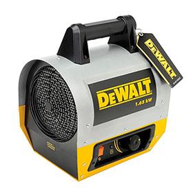 DeWalt 1.65 kW Forced Air Electric Construction Heater