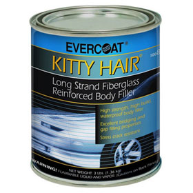 Evercoat Kitty Hair Long Strand Fiberglass Reinforced Body Filler