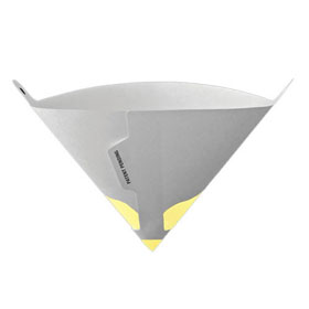 Gerson Yellow Elite Paint Strainer - 190 Micron Synthetic Filter, 500/CS - 010614Y