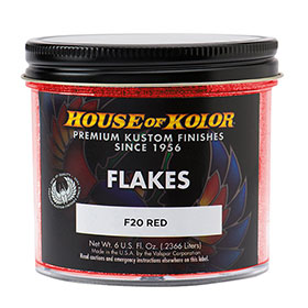 House of Kolor Red Flake 6 Oz. - F20