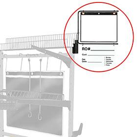 "ProLific Parts Caddy PRO ""C"" Repair Order Holder w/ Dry Erase Kit"