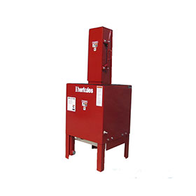 """Herkules 17.5 Ton Oil Filter Crusher, 30"""" Max Filter Height - OFC5"""