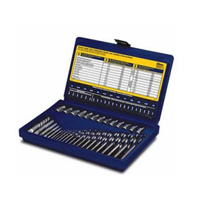 Irwin Hanson 35pc. Screw Extractor & Drill Bit Set - 11135