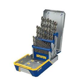 Irwin Vise-Grip 29 Pc Cobalt M-35 Metal Index Drill Bit Set - 3018002