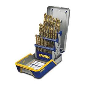 Irwin 29 Pc. Titanium Metal Index Drill Bit Set - 3018003