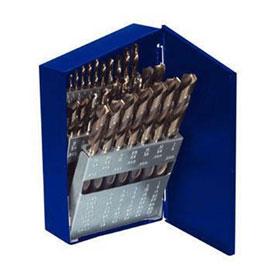"Irwin 21 Pc. High Speed Turbo Point Tip Steel Drill Bit Set, 1/16""-3/8"" - 73149"