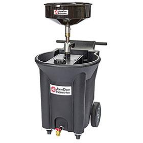 JohnDow 22 Gallon Portable Poly Oil Drain - JDI-22DCX