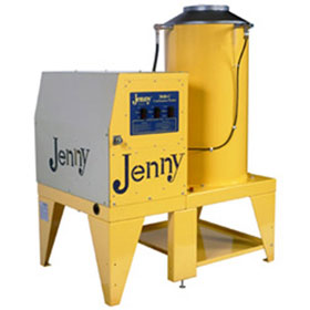 Steam Jenny Oil Fired 3000 PSI at 4 GPM Pressure Washer/110 GPH Steam Cleaner, 13HP Gas Engine - 3040-C-OMP