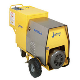 Steam Jenny Electric 2000 PSI at 4 GPM Pressure Washer/90 GPH Steam Cleaner, 460V - 3 Phase - E-2000-C