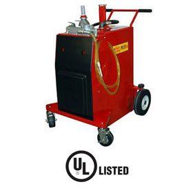 John Dow Industries Pro 30-Gallon Gas Caddy w/ Air Motor UL Listed - FC-P30A-UL